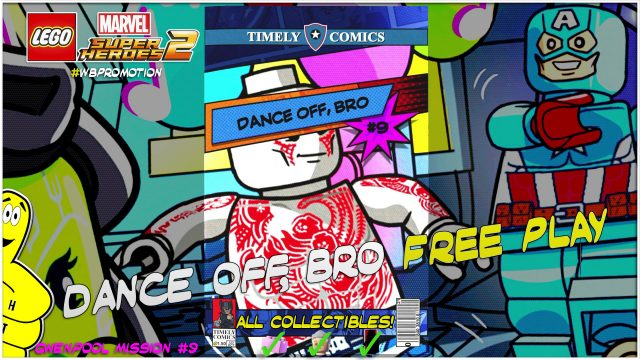 Lego Marvel Superheroes 2: Gwenpool Mission 9 / Dance off, Bro FREE PLAY – HTG