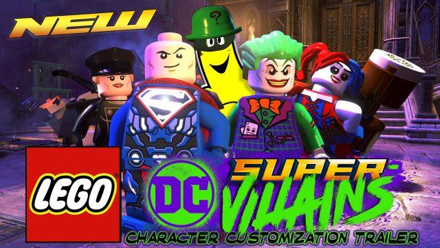 Lego DC Super-Villains: Character Customization Announcement Trailer – HTG