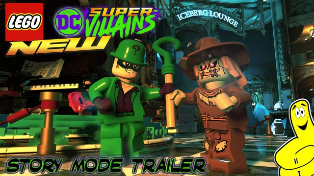 Lego DC Super-Villains: STORY Mode Trailer – HTG