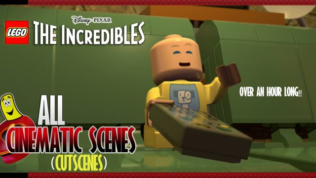 Lego The Incredibles: ALL STORY Cutscenes and Credits – HTG