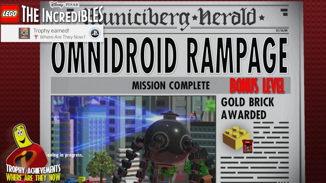 Lego The Incredibles: Bonus Level / Omnidroid Rampage – HTG