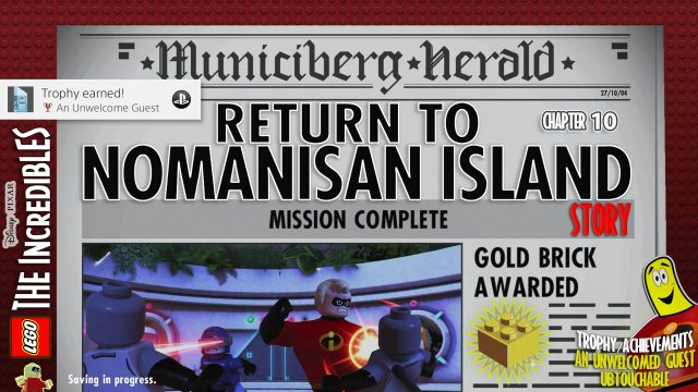 Lego The Incredibles: Chapter 10 / Return to Nomanisan Island STORY – HTG