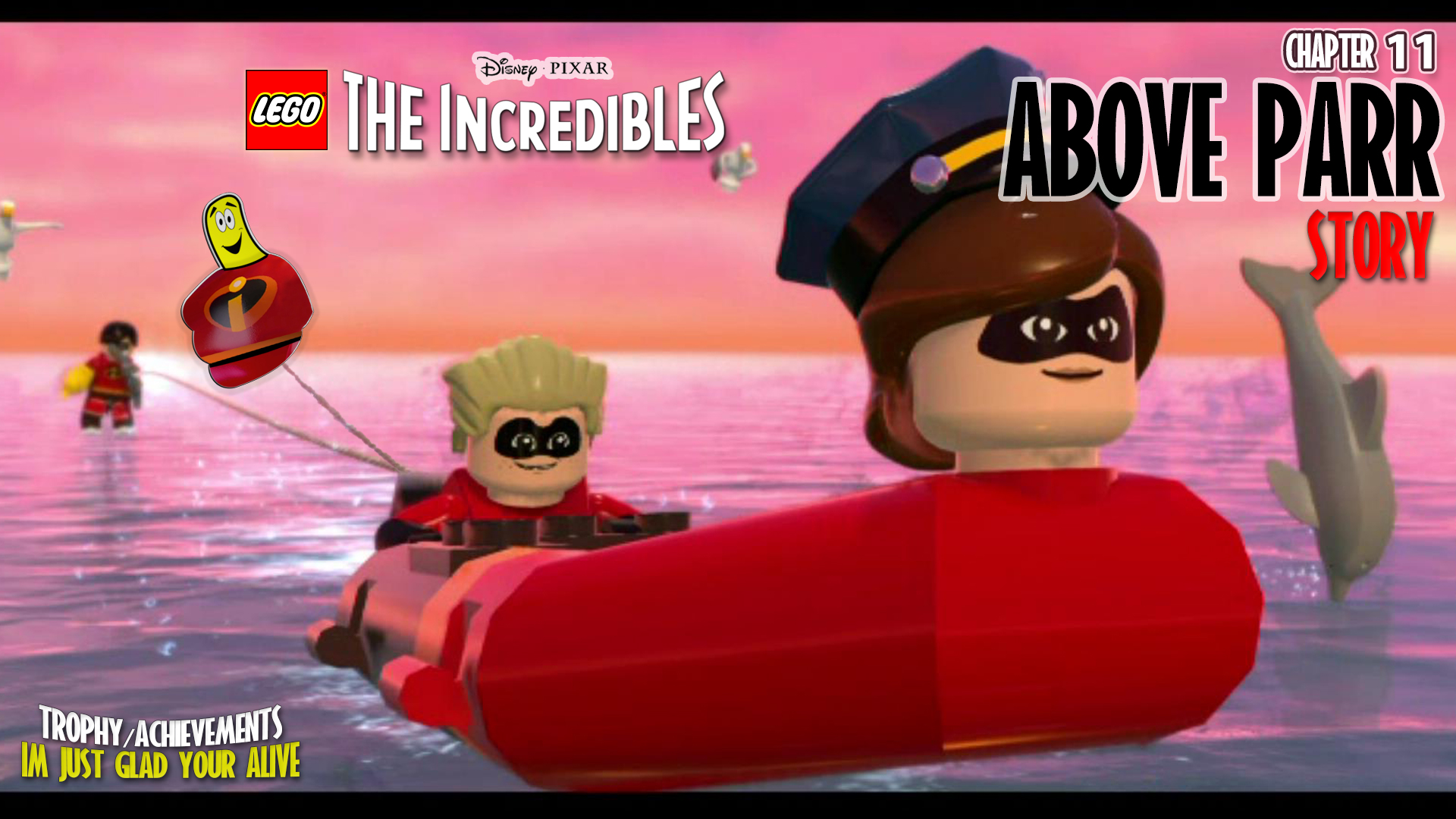 Lego The Incredibles: Chapter 11 / Above Parr STORY – HTG