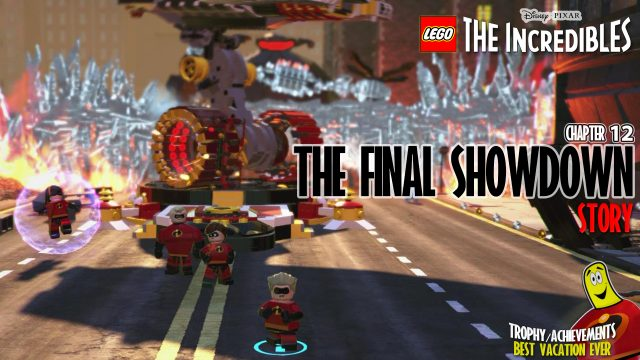 Lego The Incredibles: Chapter 12 / The Final Showdown STORY – HTG