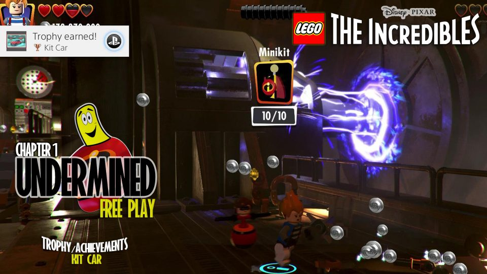 Lego The Incredibles: Undermined FREE PLAY (All 10 Minikits) – HTG