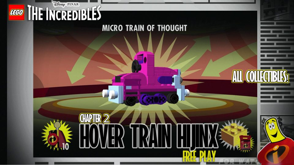 Lego The Incredibles: Hover Train Hijinx FREE PLAY (All 10 Minikits) – HTG