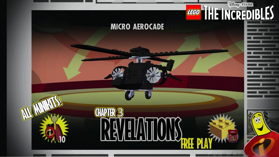Lego The Incredibles: Revelations FREE PLAY (All 10 Minikits) – HTG