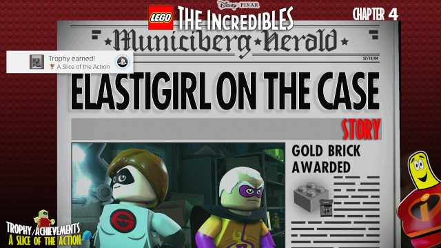 Lego The Incredibles: Chapter 4 / Elastigirl on the Case STORY – HTG