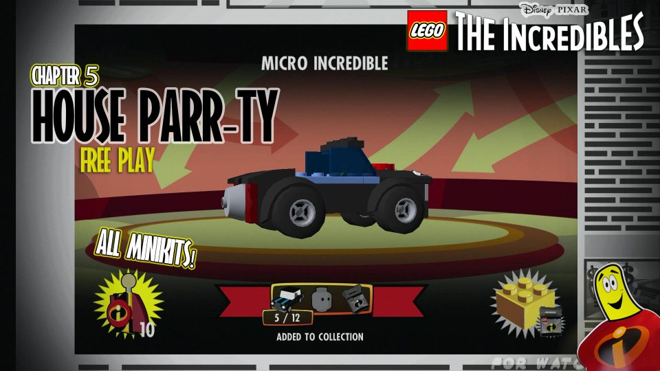 Lego The Incredibles: House Parr-ty FREE PLAY (All 10 Minikits) – HTG