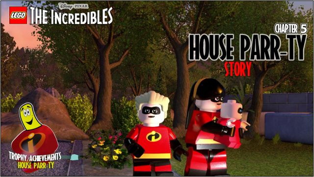 Lego The Incredibles: Chapter 5 / House Parr-ty STORY – HTG