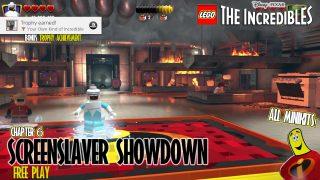 Lego The Incredibles: Screenslaver Showdown FREE PLAY (All 10 Minikits) – HTG