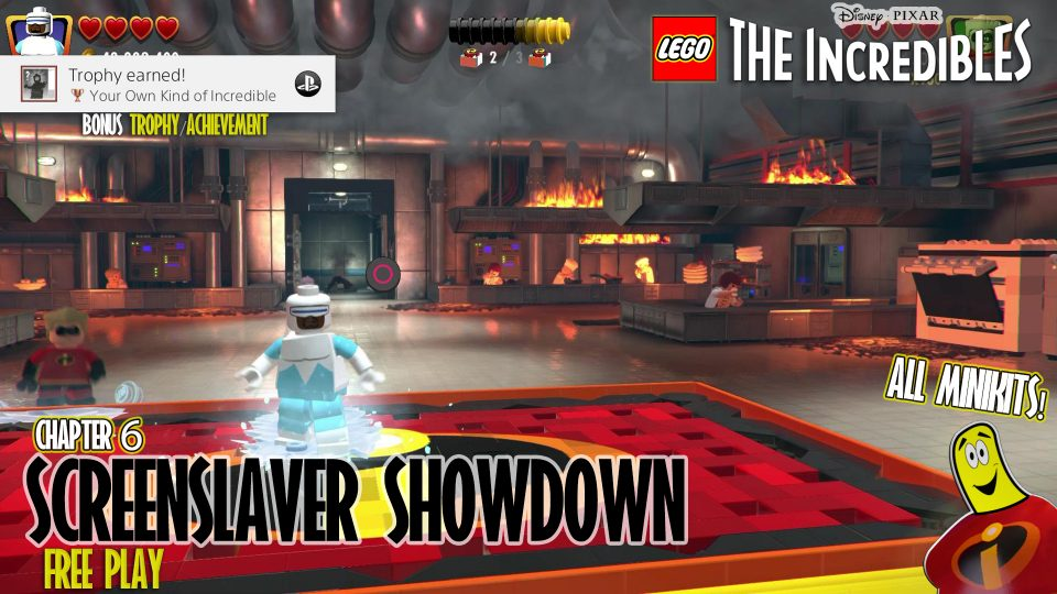 Lego The Incredibles: Screenslaver Showdown FREE PLAY (All 10 Minikits) – HTG