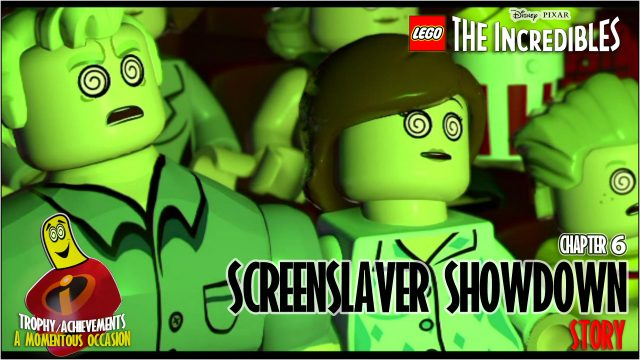 Lego The Incredibles: Chapter 6 / Screenslaver Showdown STORY – HTG