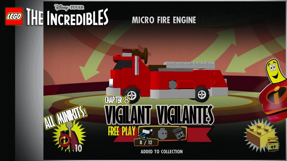 Lego The Incredibles: Vigilant Vigilantes FREE PLAY (All 10 Minikits) – HTG