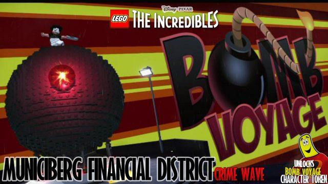 Lego The Incredibles: Municiberg / Financial District CRIME WAVE – HTG