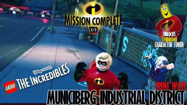 Lego The Incredibles: Municiberg / Industrial District CRIME WAVE – HTG