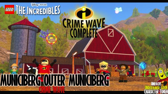Lego The Incredibles: Municiberg / Outer Municiberg CRIME WAVE – HTG
