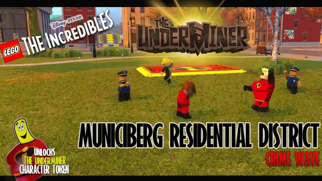 Lego The Incredibles: Municiberg / Residential District CRIME WAVE – HTG