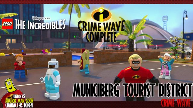 Lego The Incredibles: Municiberg / Tourist District CRIME WAVE – HTG