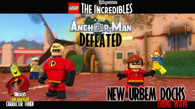 Lego The Incredibles: New Urbem / Docks CRIME WAVE – HTG