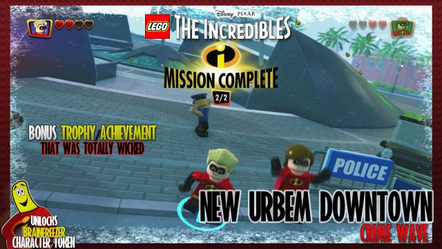 Lego The Incredibles: New Urbem / Downtown CRIME WAVE – HTG