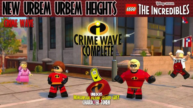 Lego The Incredibles: New Urbem / Urbem Heights CRIME WAVE – HTG
