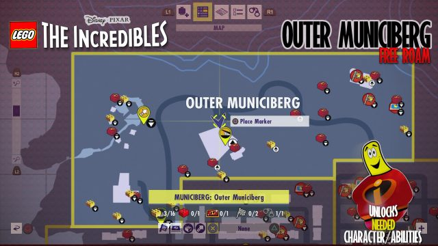Lego The Incredibles: Outer Municiberg FREE ROAM – HTG