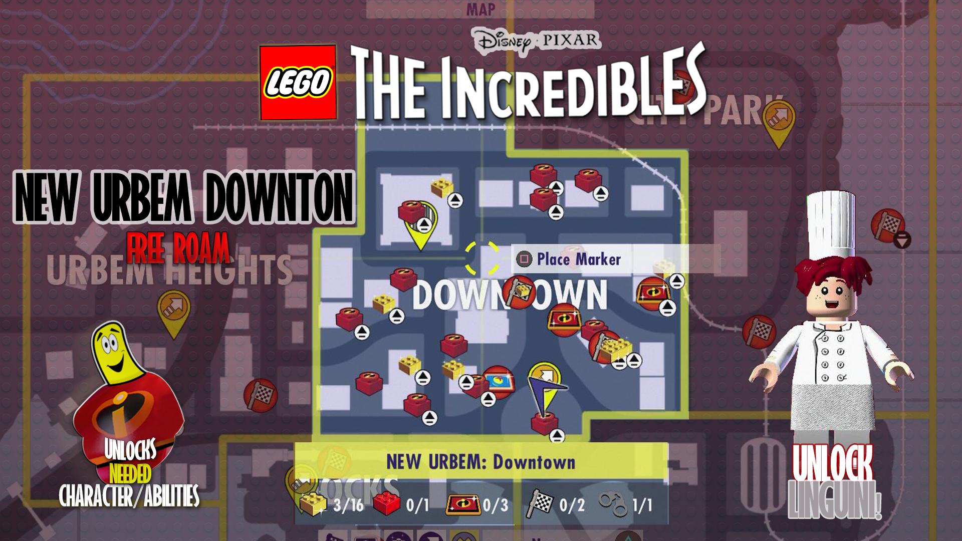 LegoIncredUrbemDowntownFREEROAM