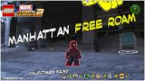 Lego Marvel Superheroes 2: Manhattan FREE ROAM (All Collectibles) – HTG