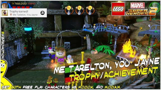 Lego Marvel Superheroes 2: Me Tarelton, You Jayne Trophy/Achievement – HTG