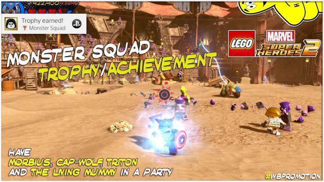 Lego Marvel Superheroes 2: Monster Squad Trophy/Achievement – HTG