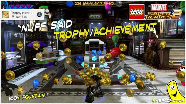 Lego Marvel Superheroes 2: 'Nuff Said Trophy/Achievement – HTG