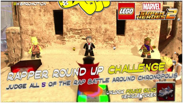 Lego Marvel Superheroes 2: Rapper Round Up Challenge – HTG