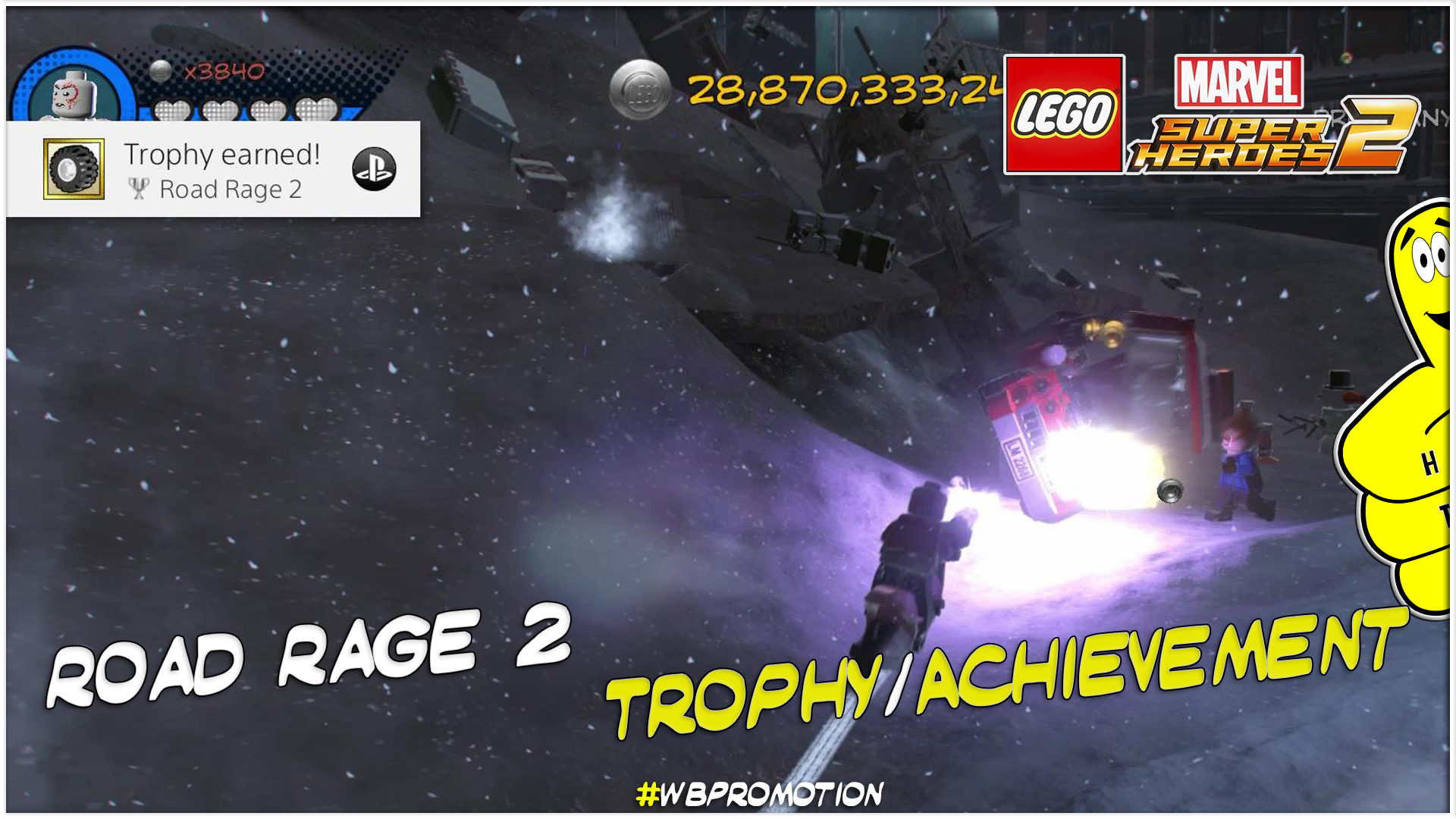 Lego Marvel Superheroes 2: Road Rage 2 Trophy/Achievement – HTG