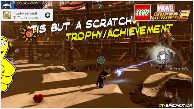 Lego Marvel Superheroes 2: 'Tis But a Scratch Trophy/Achievement – HTG