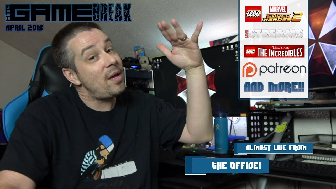 Gamebreak: April 2018 (Almost Live From the Office!) – HTG