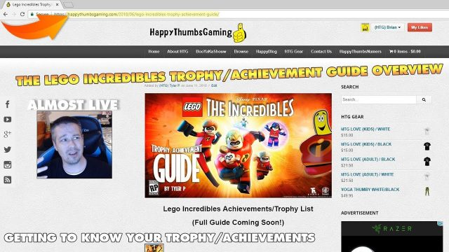 Lego The Incredibles: Trophy/Achievement Overview – HTG