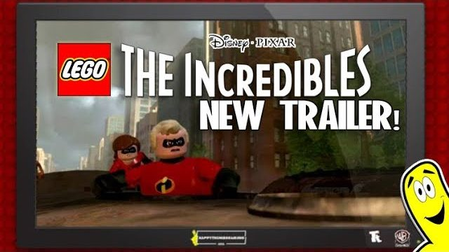 LEGO The Incredibles: NEW TRAILER!
