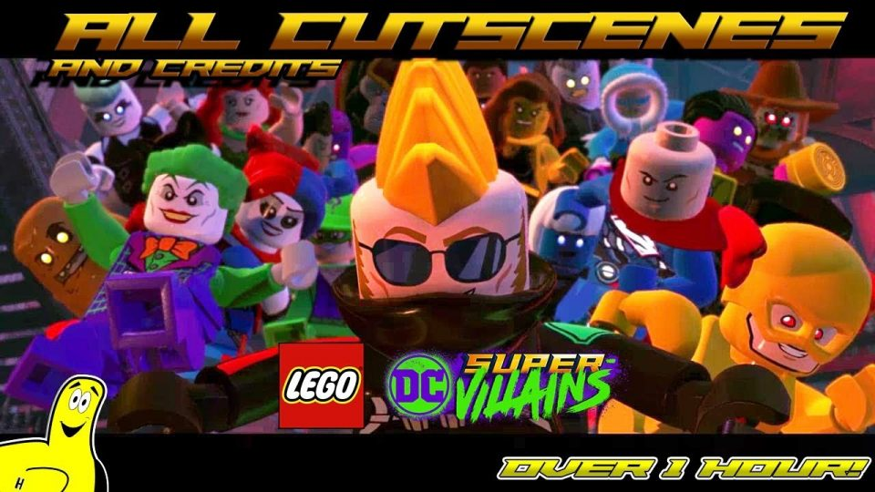 Lego DC Super-Villains: All Story Cutscenes and Credits – HTG