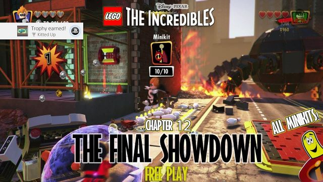 Lego The Incredibles: The Final Showdown FREE PLAY (All 10 Minikits) – HTG