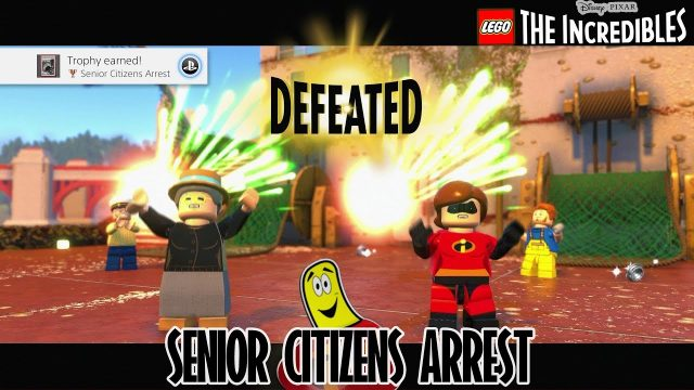 Lego The Incredibles: Senior Citizens Arrest Trophy/Achievement – HTG