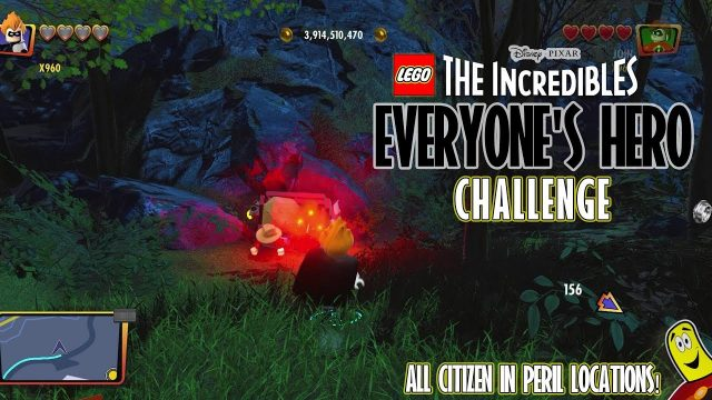 Lego The Incredibles: Everyone's Hero CHALLENGE – HTG