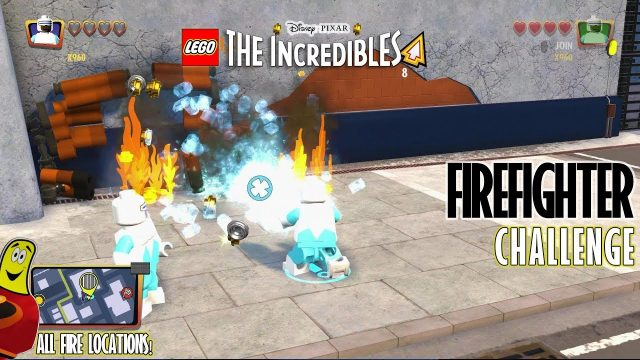 Lego The Incredibles: Fire Fighter CHALLENGE – HTG