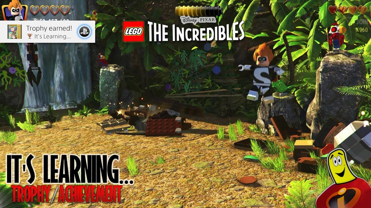 Lego The Incredibles: It's Learning… Trophy/Achievement – HTG