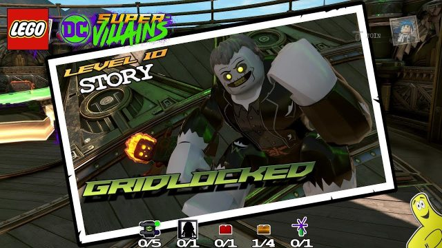 Lego DC Super-Villains: Level 10 / Gridlocked STORY – HTG