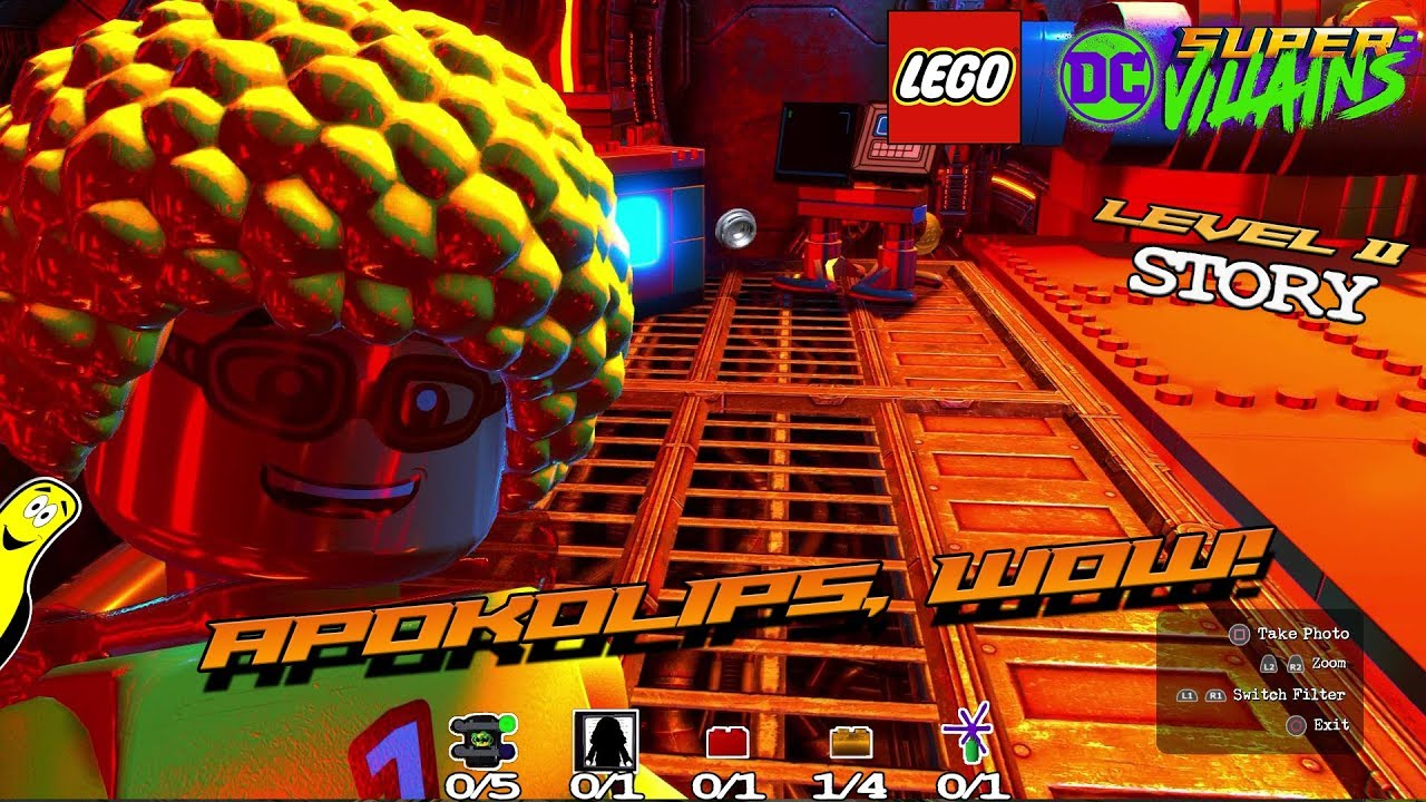 Lego DC Super-Villains: Level 11 / Apokolips, Wow! STORY – HTG