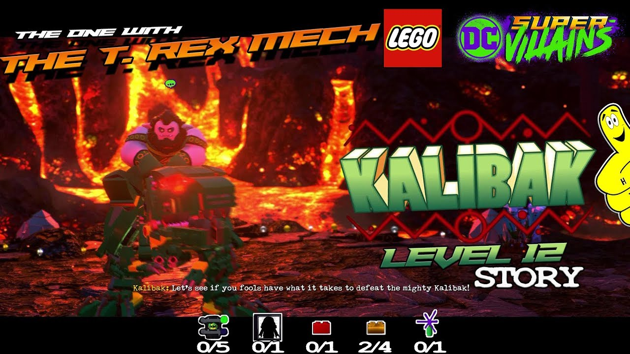 Lego DC Super-Villains: Level 12 / The One With The T. rex Mech STORY – HTG