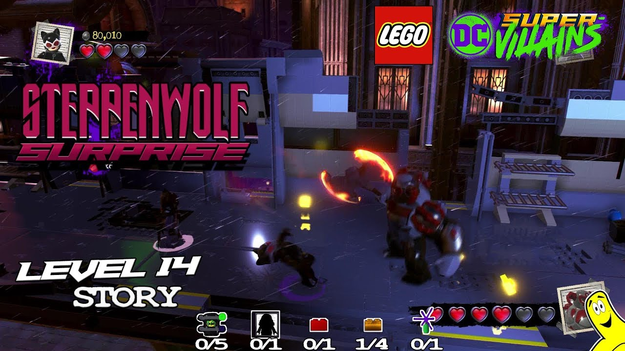 Lego DC Super-Villains: Level 14 / Steppenwolf Surprise STORY – HTG