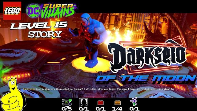 Lego DC Super-Villains: Level 15 / Darkseid of the Moon STORY – HTG