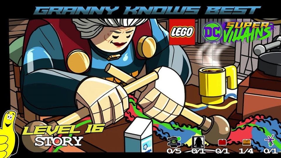 Lego DC Super-Villains: Level 16 / Granny Knows Best STORY – HTG